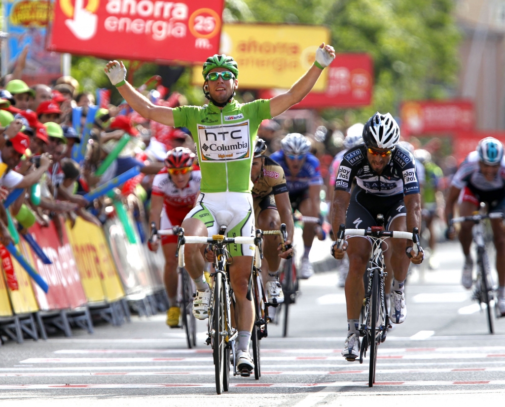 MARK CAVENDISH WINS STAGE EIGHTEEN OF THE TOUR OF SPAIN