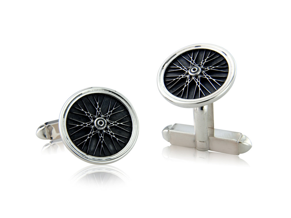 Valentine's Day Cycling Cufflinks