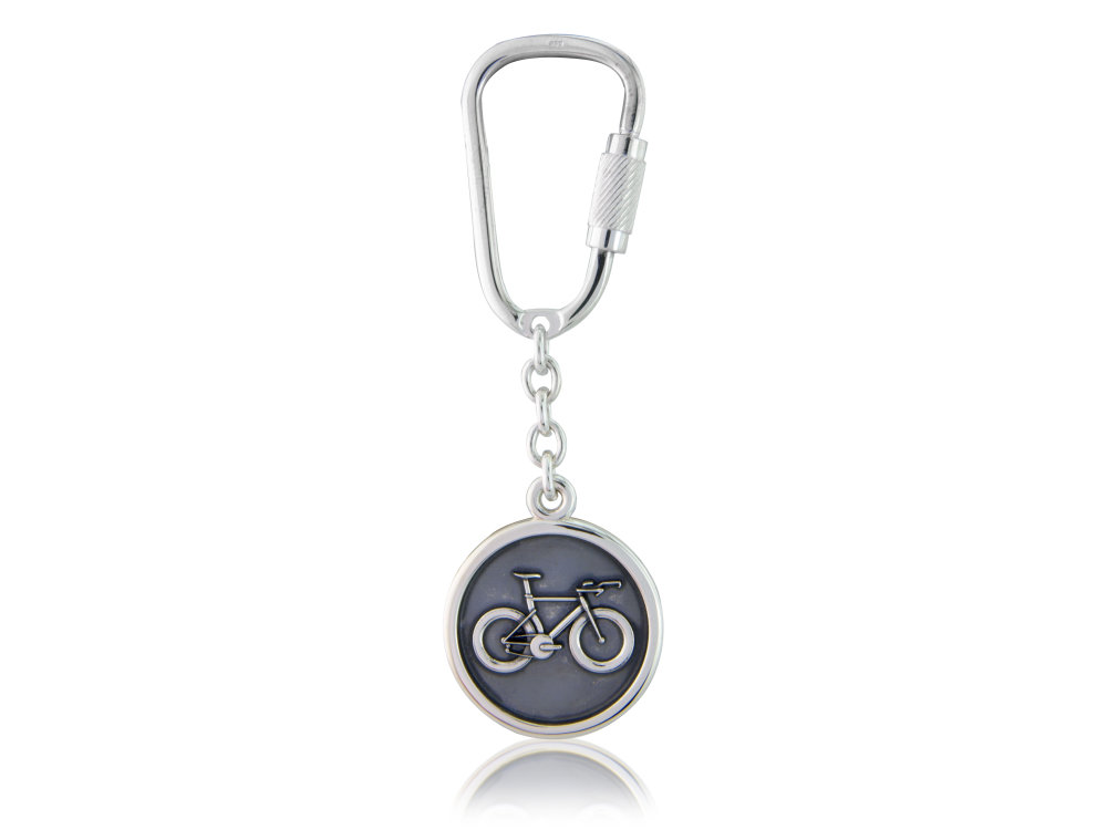 Valentine's Day Cycling Keyring