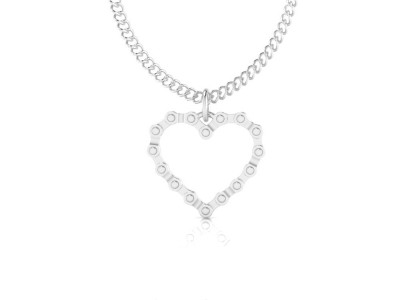 Mothers Day Heart Necklace