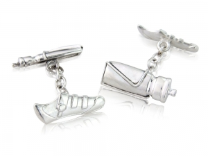 Mens Cycling Cufflinks gift