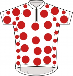 Tour de France polka dot jersey